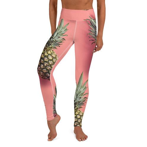 Yoga Leggings - Pineapple