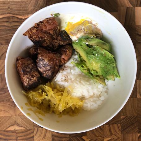 Vegan Brat Bowl