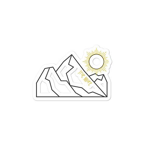 Sticker - True Nature Mountain