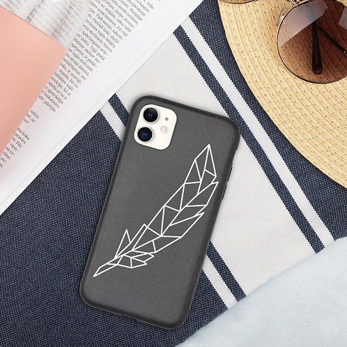 Biodegradable phone case - Feather