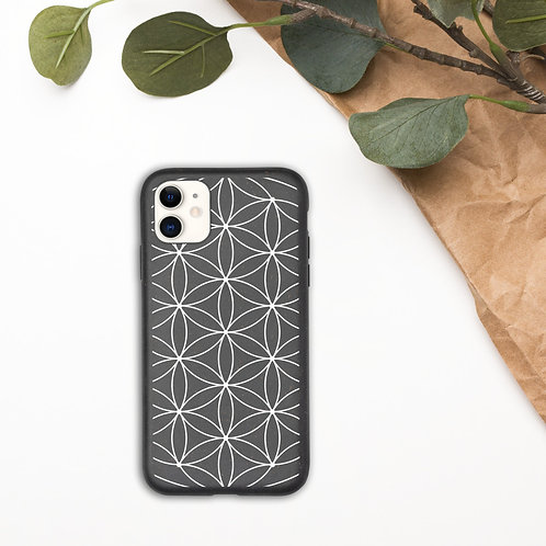 Biodegradable phone case - Sacred Geometry