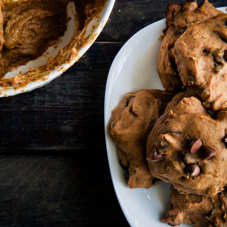 Vegan/Gluten Free Tumeric Chocolate Chip Cookies