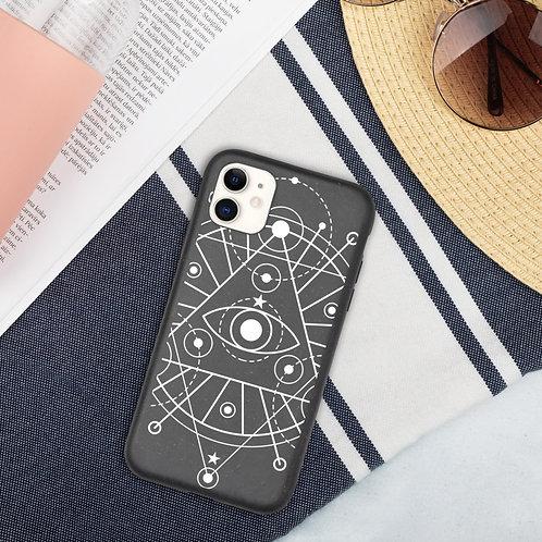 Biodegradable phone case - geometric