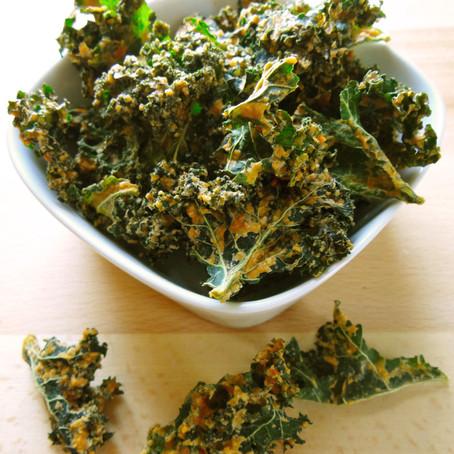 April Recipe: Kale Chips