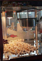 Hot Freshly made Popcorn