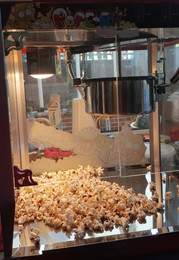 Hot Freshly made Popcorn