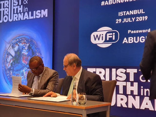 AUB and Asia-Pacific Broadcasting Union sign Media Agreement in Turkey