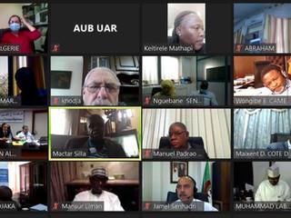 L'UAR a tenu son Conseil exécutif le 16 juillet 2020