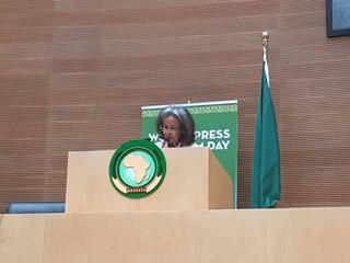 World Press Freedom Day                 Speech by Grégoire Ndjaka DG / AUB