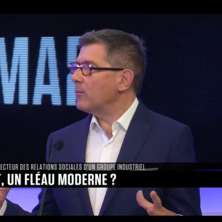 """""""Burn-out, un fléau moderne ?"""" : mon intervention sur B SMART TV"""