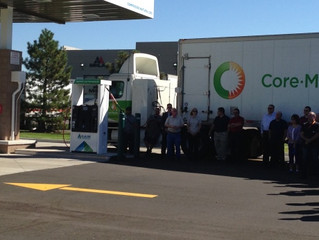 GAIN® Clean Fuel's newest CNG Station Opens at Majestic Commercenter