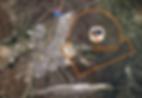 Aerial satellite view of Port Grane site