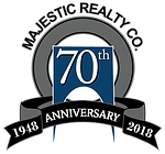 Majestic Realty 70th Anniversary Logo