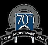 Majestic Realty 70th Anniversary Logo