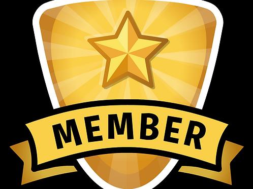 1 Yr. Membership