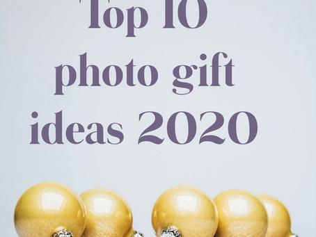 Top 10 photo gift ideas for Xmas 2020...
