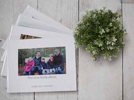 Creating a photobook:  Step 4
