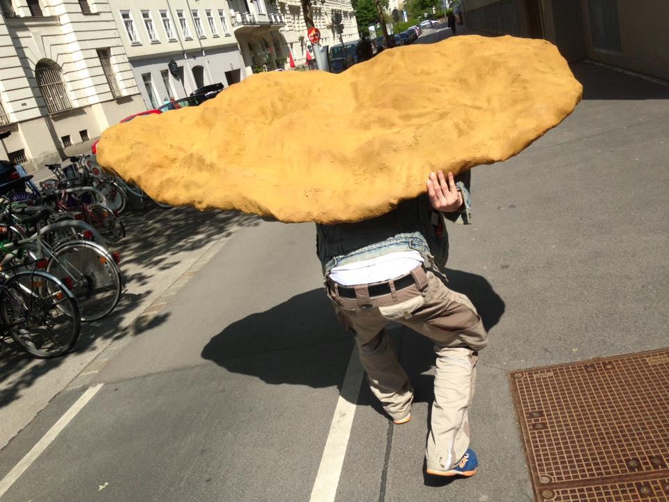 Grandits' Schnitzel Anlieferung