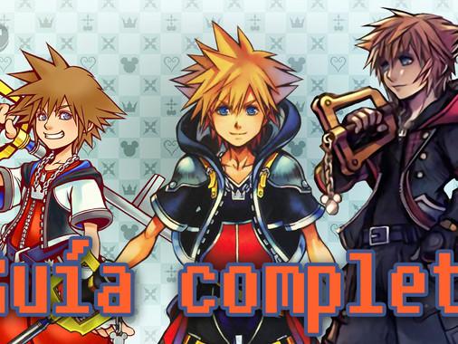 Guía definitiva para jugar la saga Kingdom Hearts (2020)