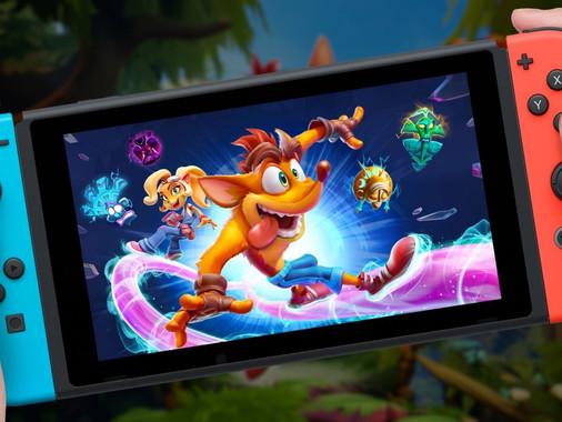Crash Bandicoot 4 llega a Nintendo Switch