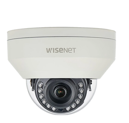 Samsung HCV-7010RA 4MP Vandal Resistant IR Dome Camera