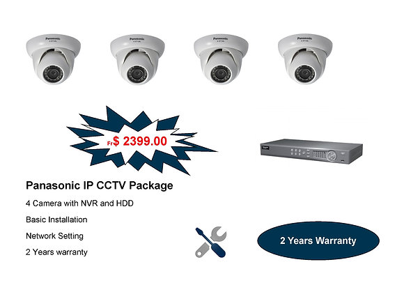 Panasonic IP Camera Package