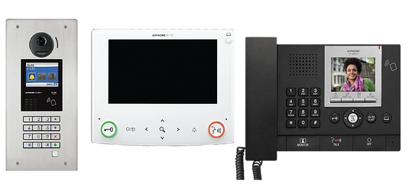 Aiphone Multi Tenant Video and Audio Intercom GT System