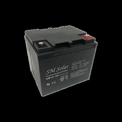 SM Solar AGM Battery 45AH