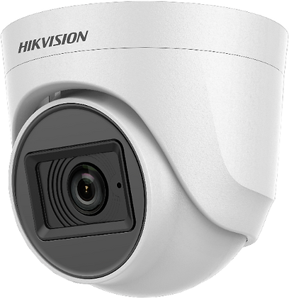 Hikvision DS-2CE76DOT-ITPFS 2MP IR Dome Camera with in-built Microphone