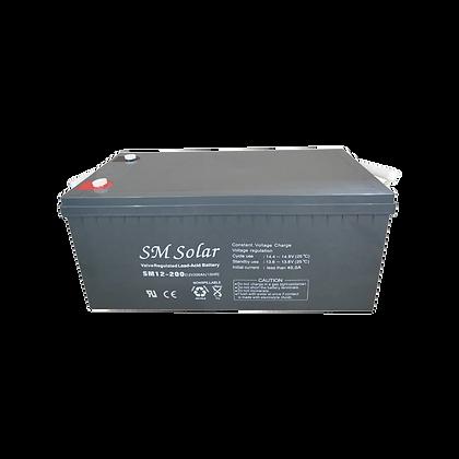 SM Solar AGM Battery 200AH