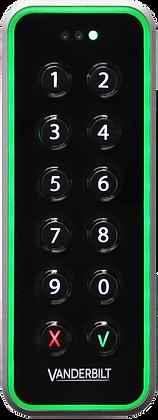 Vanderbilt VR50M-MF Mifare Mullion Card Reader with Keypad