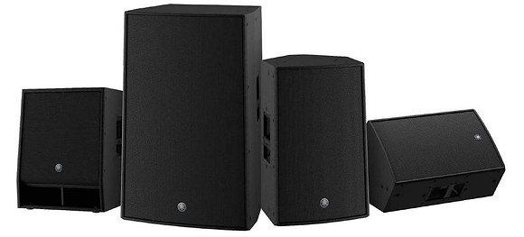 Yamaha DZR & CZR Loudspeakers Series 