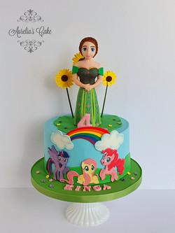 Anna/Pony Cake