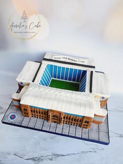 Ibrox Rangers Stadium Cake