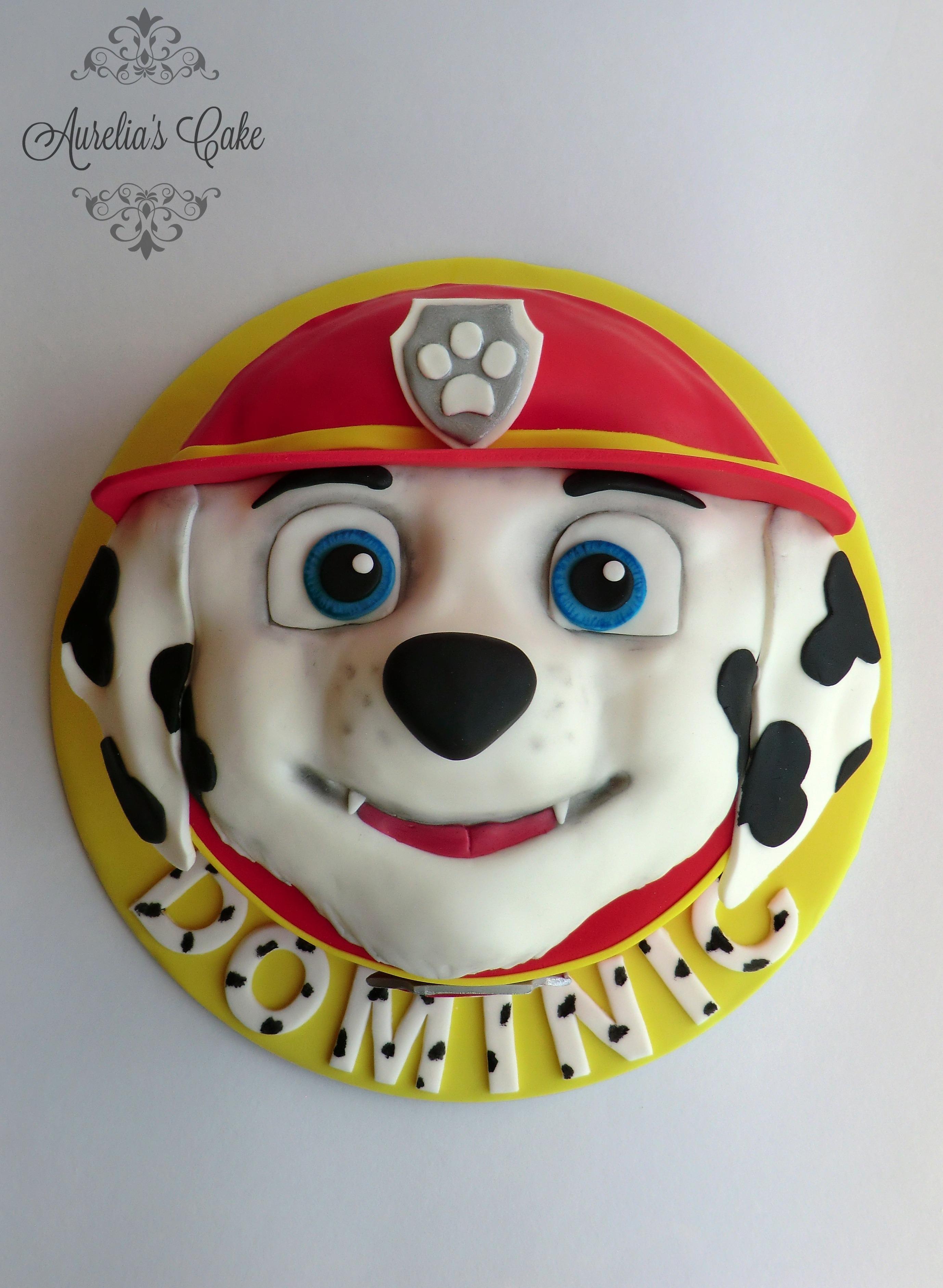 Paw Patrol_Marshall cake