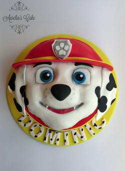 Paw Patrol/Marshall cake.