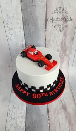 Formula 1 cake_