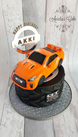 Nissan GTR cake