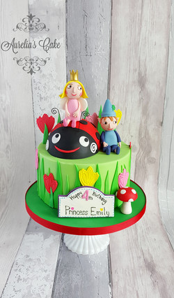 Ben and Holly cake_