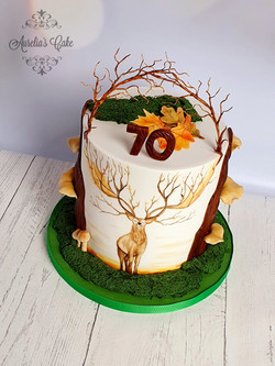 Woodland_Deer Cake