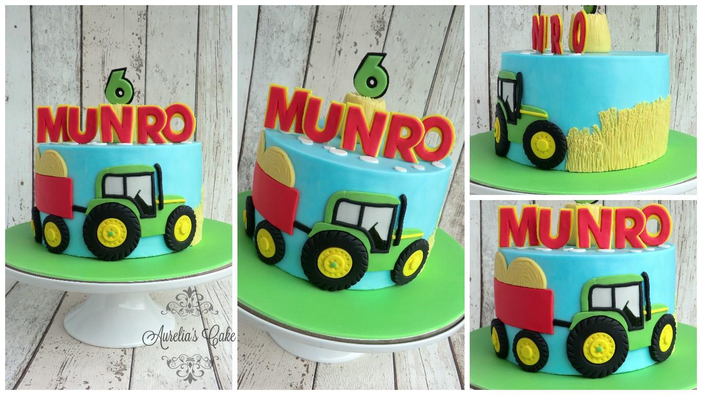 Farm/Tractor cake.