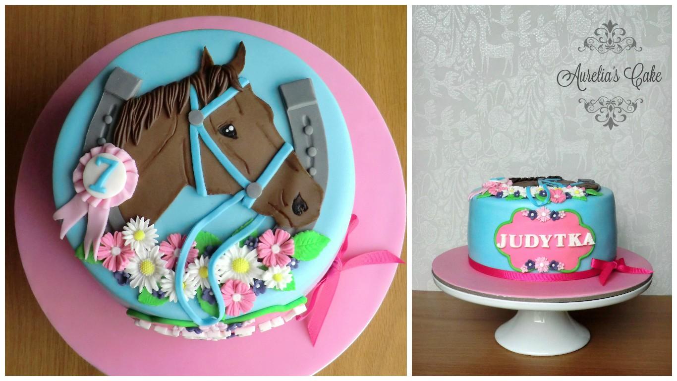 Horse cake.
