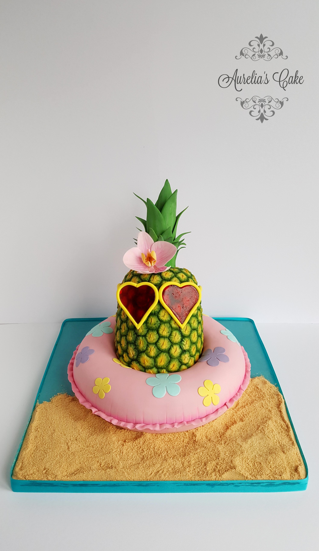 Pineapple cake_