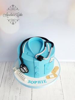 Nurse_Doctor Cake