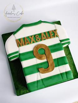 Football shirt 2d cake
