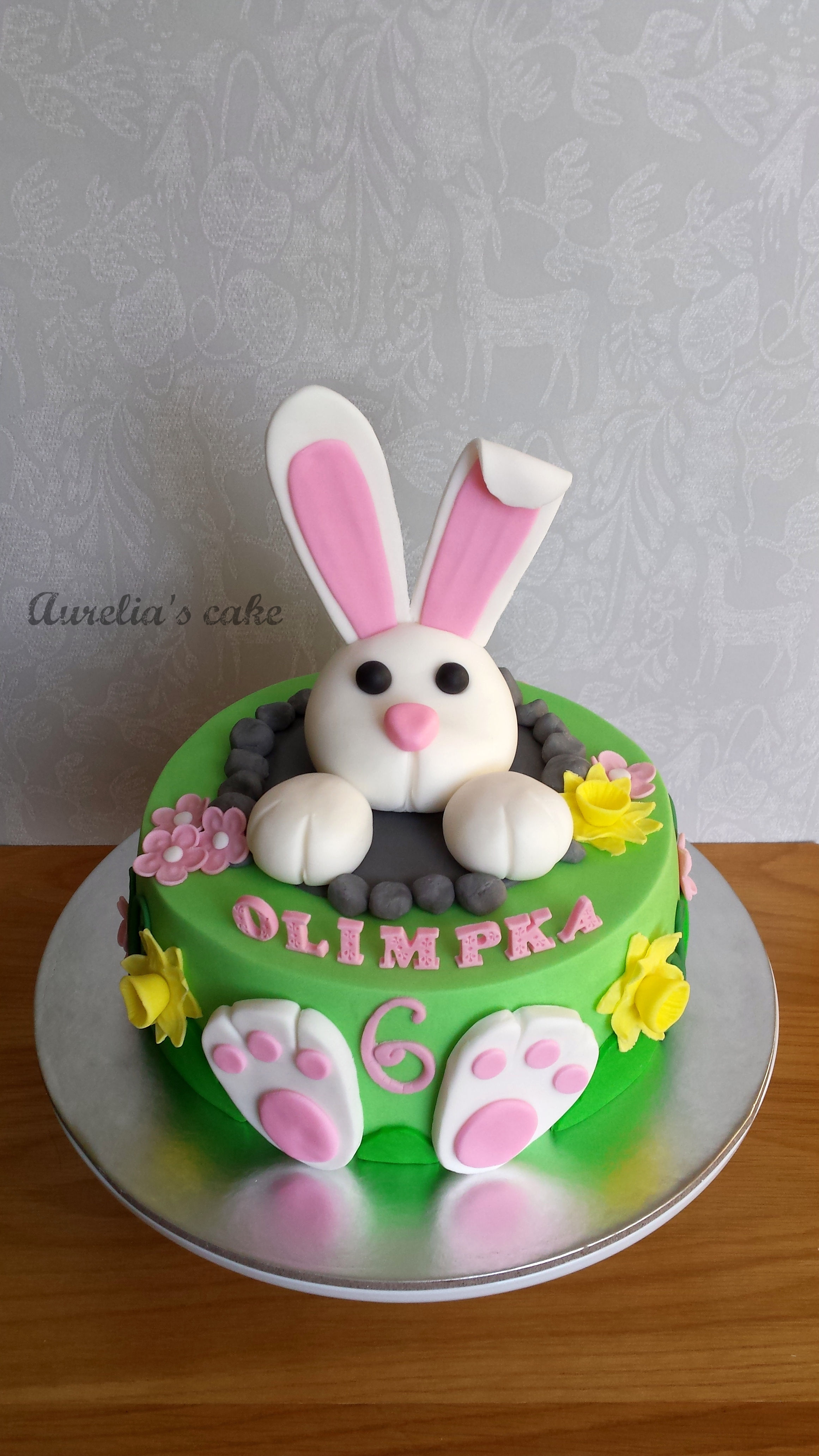 Bunny/easter cake.