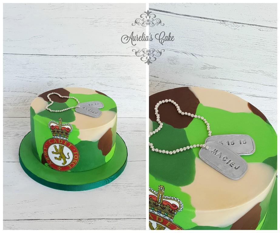 Military cake_