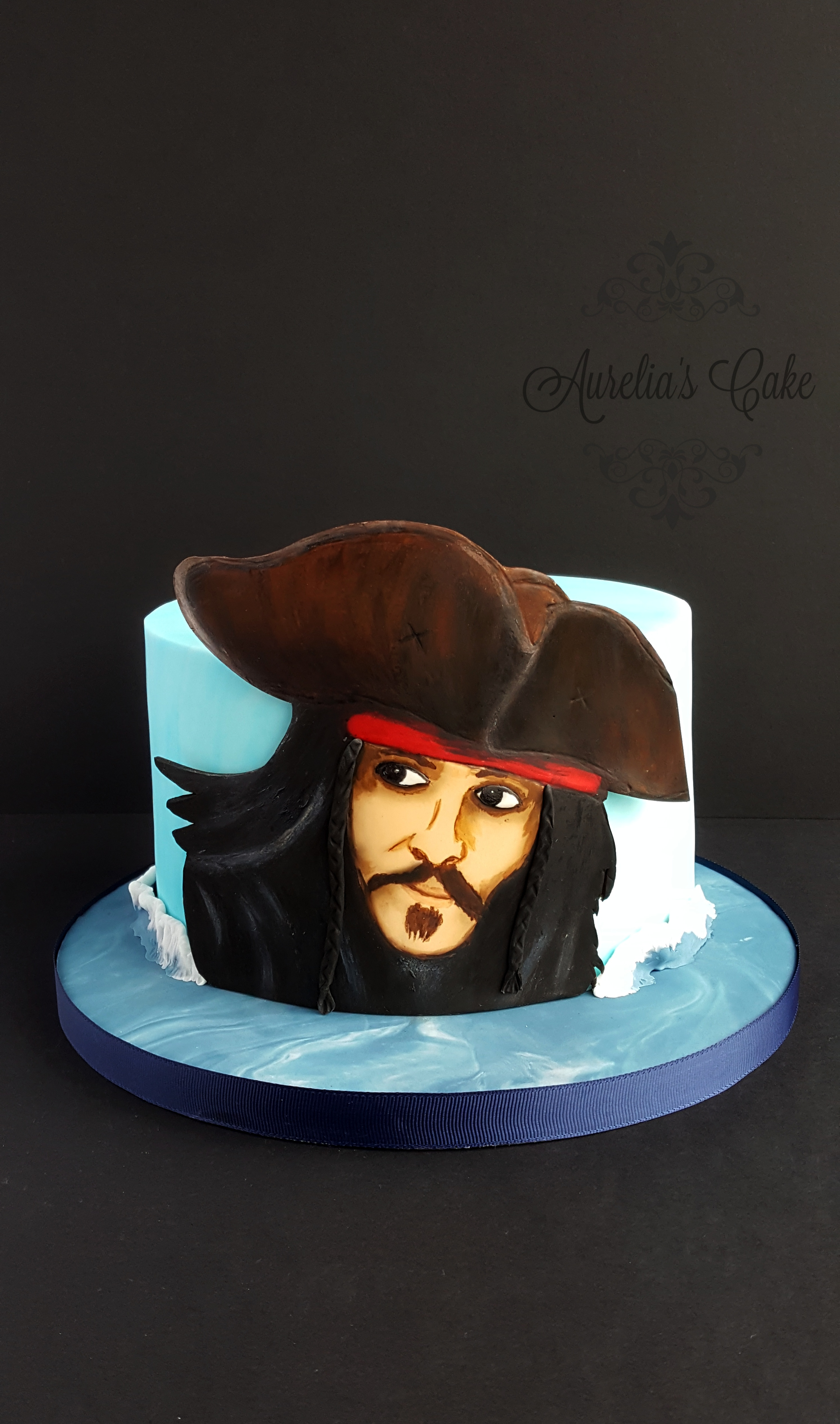Pirates of the Caribbean_Jack Sparrow cake_