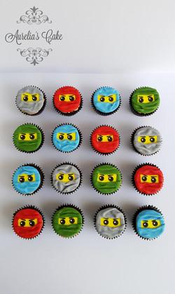 Ninjago cupcakes_