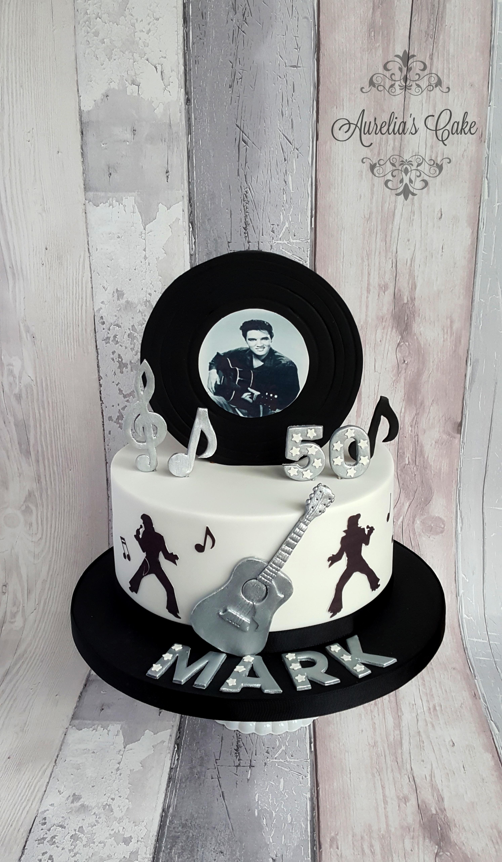 Elvis Presley cake_